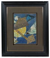 723-JOAN-JOSEP THARRATS (1918 – 2001) Composición en azul.