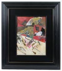 730-JOAN-JOSEP THARRATS (1918 –2001) Composición en rojo.