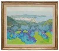 744-LLUIS ROURA (1943)CadaquésÓleo sobre lienzo