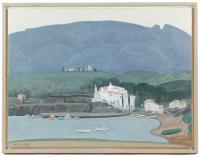 789-SHIGEYOSHI KOYAMA (1940)Port LligatÓleo sobre lienzo