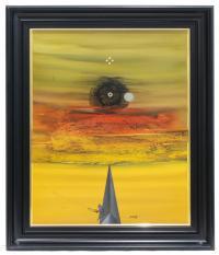 705-MANUEL BEA CERVERA (1934-1997)ComposiciónÓleo sobre lienzo