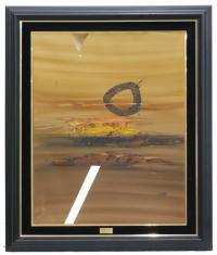 "708-MANUEL BEA CERVERA (1934-1997)""Paris-Dakar""Óleo sobre lienzo"