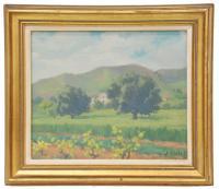 """590-JOSÉ CASALS PEIPOCH (1874-1949). """"PAISAJE""""."""