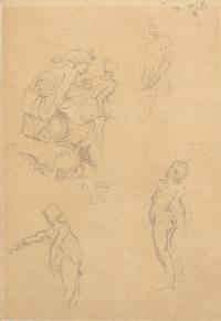 "3182-CECILIO PLA (1860-1934) ""FIGURE STUDIES""."