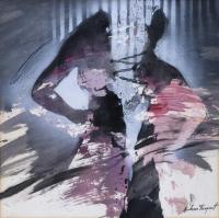 """3315-JORDI ANDREU FRESQUET (1940).  """"LA CORTINA"""", 1988."""