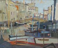 """966-RAFAEL GRIERA (1934). """"VISTA DE VENECIA""""."""