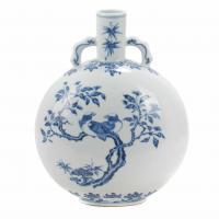 340-JARRÓN CHINO, DINASTÍA QING, YONGZHENG O QIANLONG, SIGLO XVIII.