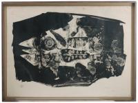 "1348-ANTONI CLAVÉ (1913-2005) ""POISSON (CARPA)"", 1959."