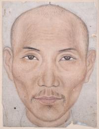 "1921-ESCUELA CHINA, FIN. SIGLO XIX-PPS.SIGLO XX. SIGLO XX. ""ANCIANO CHINO""."