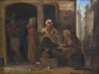 "1294-ATRIBUIDO A EUGENIO LUCAS VELÁZQUEZ (1817-1870). ""MESÓN""."