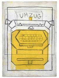 """974-MANUEL QUEJIDO (1946).  """"MÁQUINA UMZUG"""", 1991."""