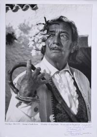 """981-MARC LACROIX (1927-2007). """"L'HOMME À L'OREILLE FLEURIE (EL HOMBRE A LA OREJA FLORIDA)"""", 1974 (1971)."""