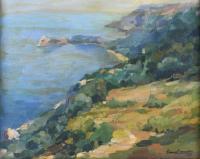3447-RAMON BARNADAS (1909/15-1981). VALLDEMOSA, MALLORCA, 1950.