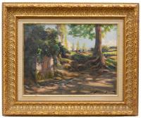 646-DOMÈNEC SOLER GILI (1871-1951)PicnicÓleo sobre tabla