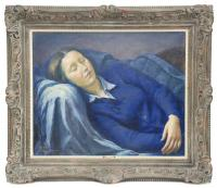"796-ANTONI VILA ARRUFAT (1896-1989)""Figura Reposant"""