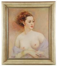 680-ALVE VALDEMI DEL MARE (1885-1972)DesnudoÓleo sobre lienzo