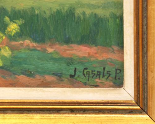 """JOSÉ CASALS PEIPOCH (1874-1949). """"PAISAJE""""."""