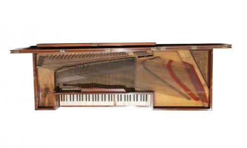 """CLEMENTI & CO NEW PATENT LONDON"", PIANO DE MESA INGLÉS, PR"