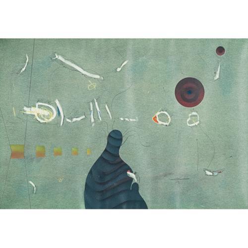 """MANUEL BEA CERVERA (1934-1997). """"SIN TÍTULO""""."""