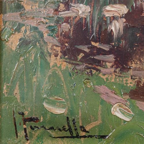 """JOAQUIM TERRUELLA MATILLA (1891-1957). """"PAISAJE""""."""