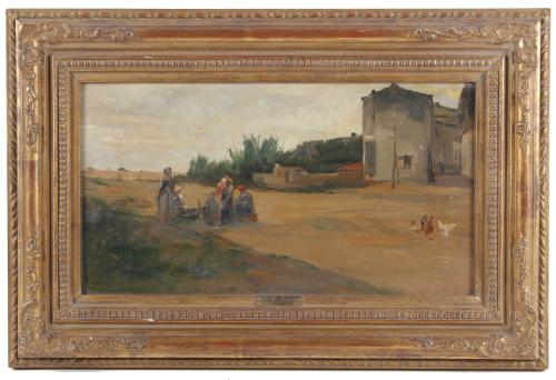 "FRANCESC TORRESCASSANA (1845-1918). ""VISTA RURAL""."