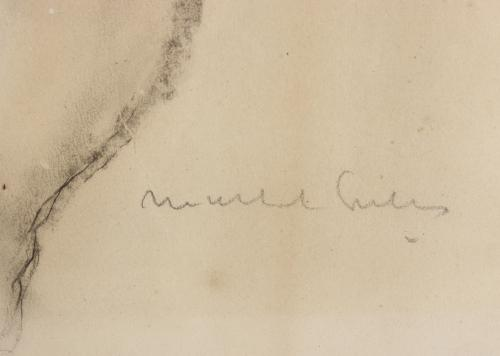 "JOSEP MARIA MALLOL SUAZO (1910-1986). ""DESNUDO FEMENINO""."