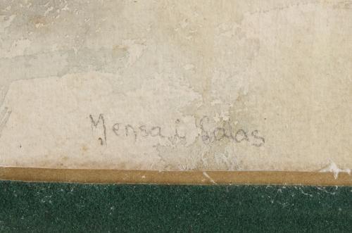 "MANUEL MENSA I SALAS (1875-1938). ""ANCIANO""."