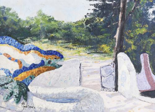 "JORDI PAGANS MONTSALVATGE (1932-2017). ""PARC GÜELL (IV)""."