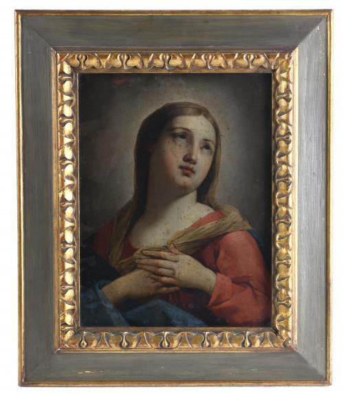 "ESCUELA ITALIANA, SIGLO XVII-XVIII. ""DOLOROSA""."