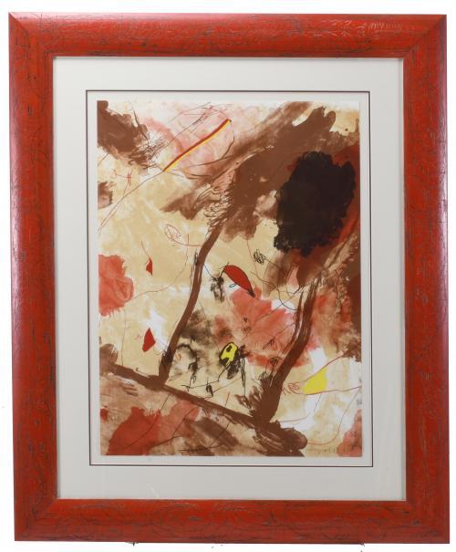 "JOSEP GUINOVART (1927-2007). ""SIN TÍTULO"", 1993."